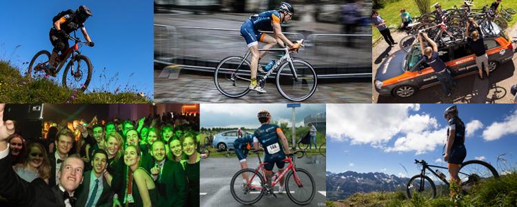 Dutch mountains - studenten mountainbiken en wielrennen in limburg
